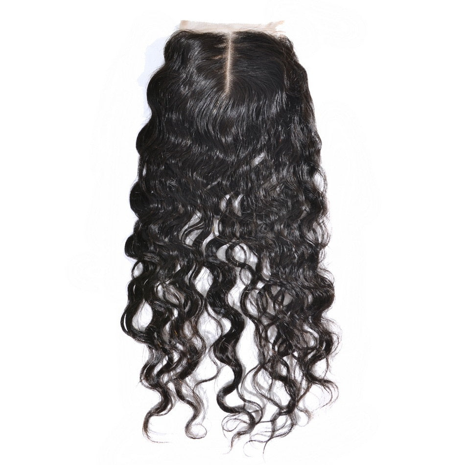 Indian Pure Wavy Silk Closure