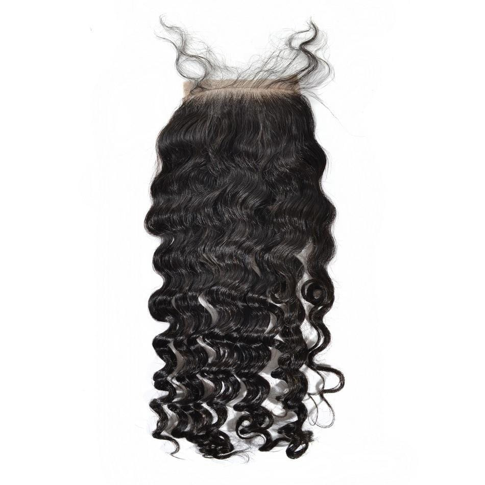 Malaysian Too Curly Silk Closure