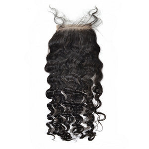 Armenian Malibu Curl Silk Closure