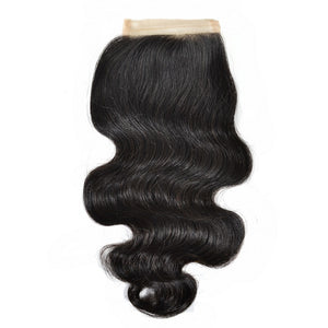 Eurasian Exotic Wave Silk Closure