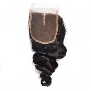 Mongolian Optimum Wavy Lace Closure