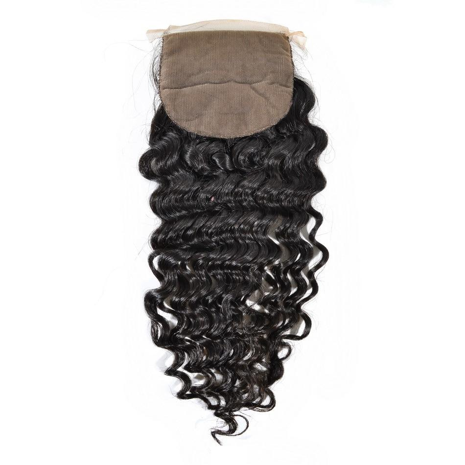 Brazilian Go Deep Curl Silk Closure
