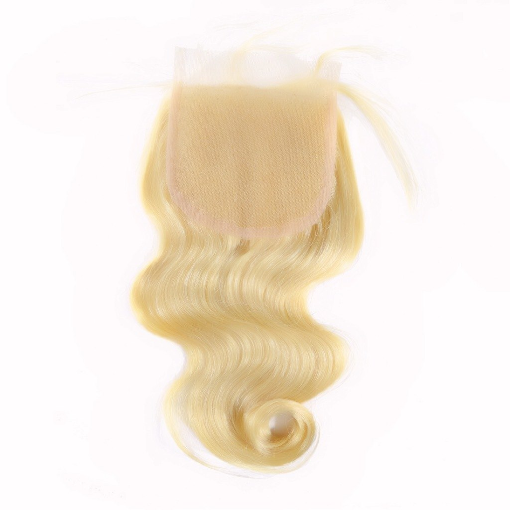 European Signature Body Wave Blonde Lace Closure