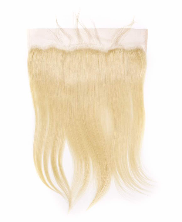 Indian Blonde Luscious Straight Lace Frontal
