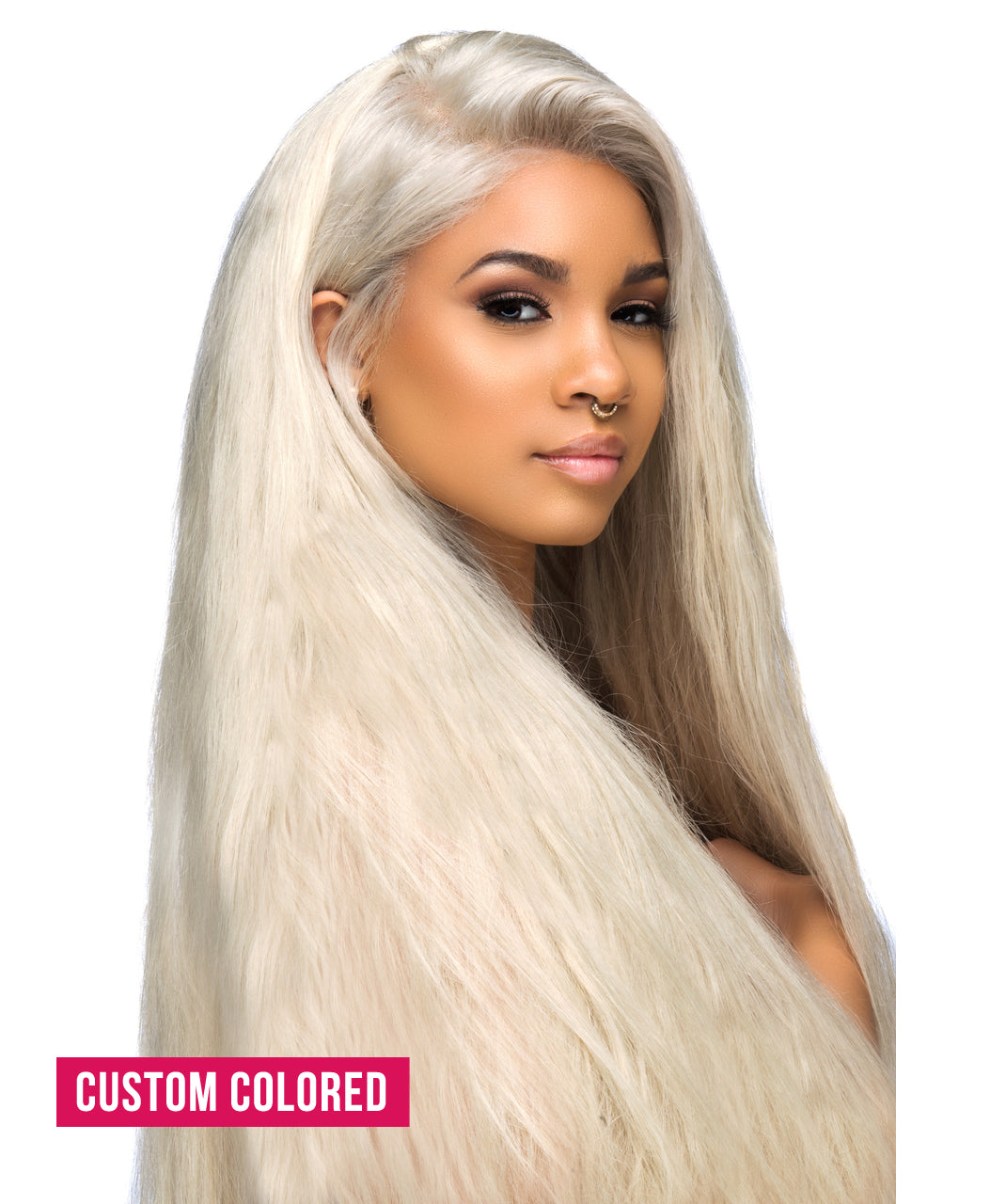 European Blonde Straight Full Lace Wigs