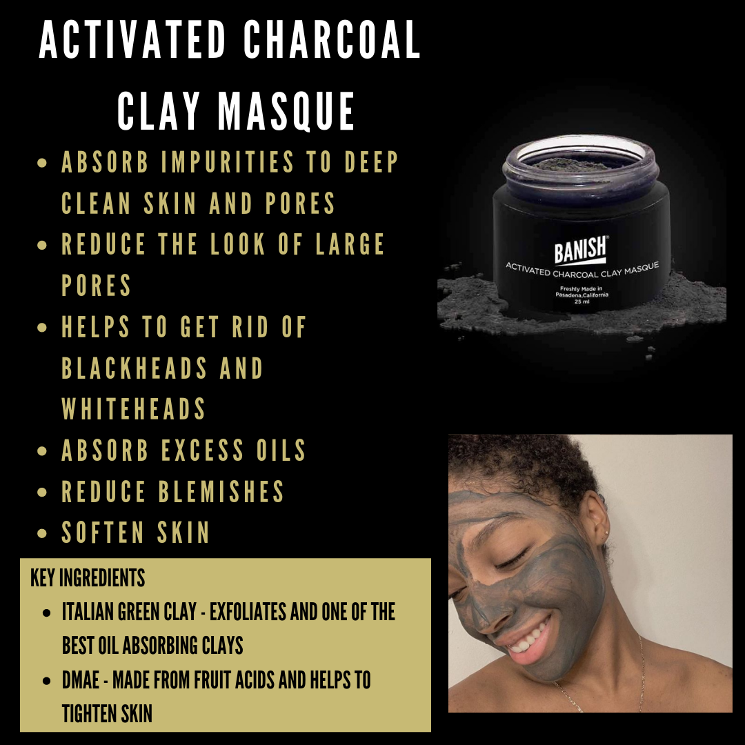 How to Use the Activated Charcoal Clay Masque