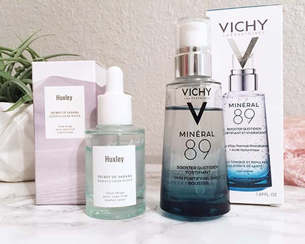 huxley essence and vichy mineral 89