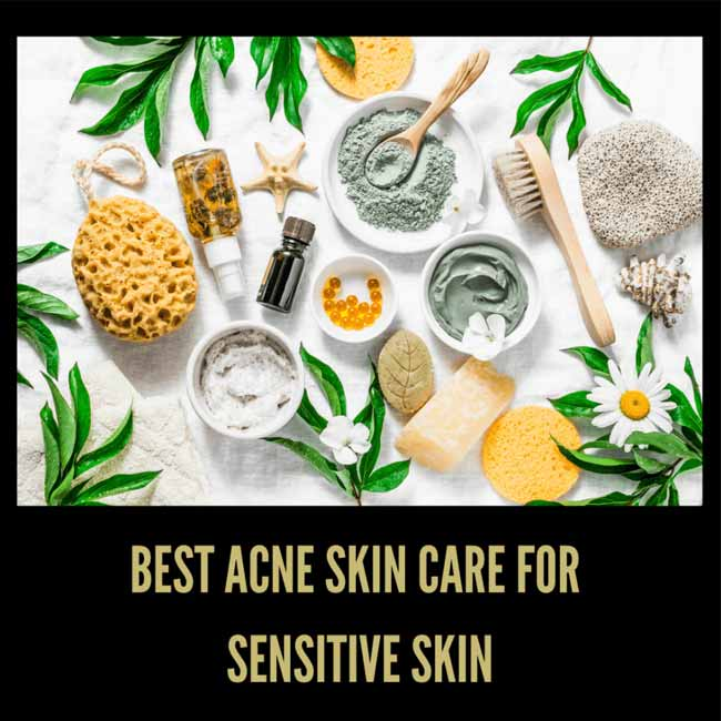 skincare for acne and sensitive skin