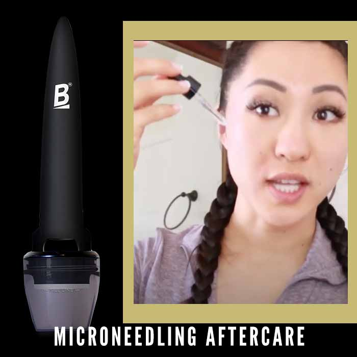 banish microneedling aftercare