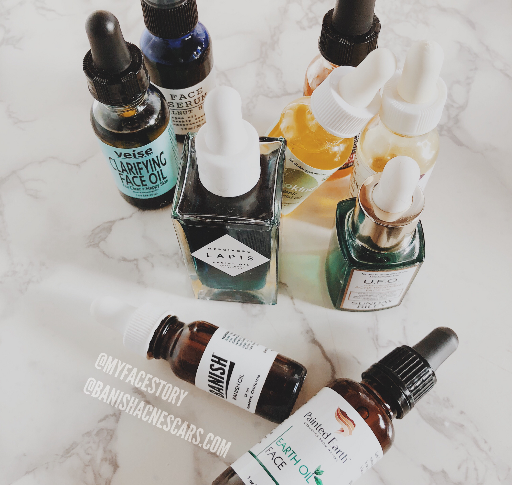 5 Face Oils You Need Right Now for Acne Free Skin