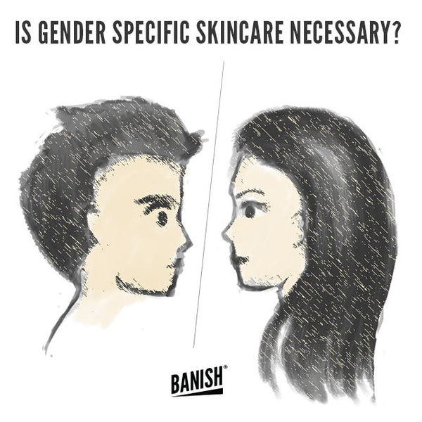 men vs women skin