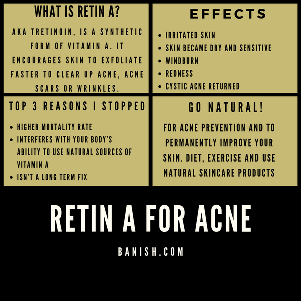 Is Retin A Safe For Acne Why I Stopped Using Retin A For Acne