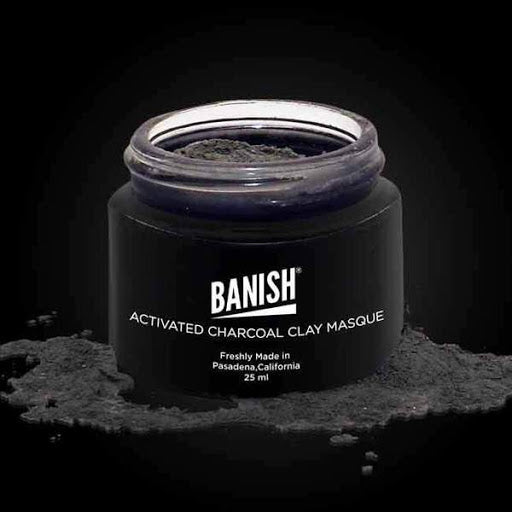banish activated charcoal masque