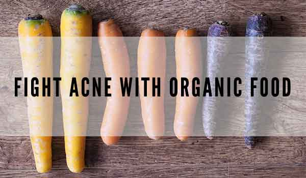 organic acne fighting carrots