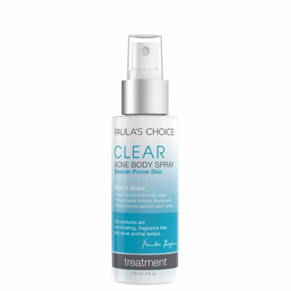 paula's choice body acne spray