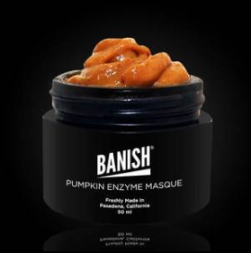 Banish pumpkin enzyme masque