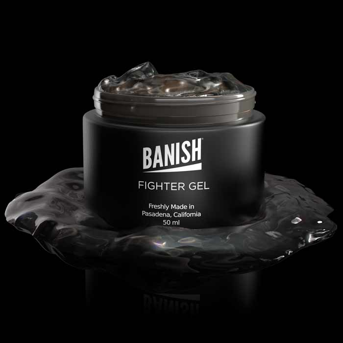 banish fighter gel open