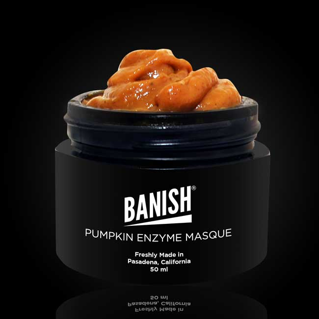 banish pumpkin enzyme mask