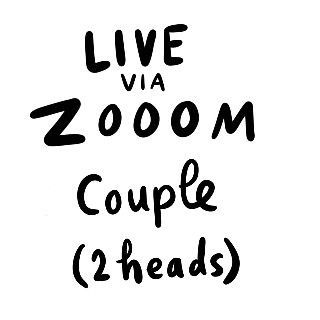 Live Portrait via Zoom x1 Couple