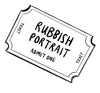 Rubbish Portrait Gift Card Admits x1 (from photo)