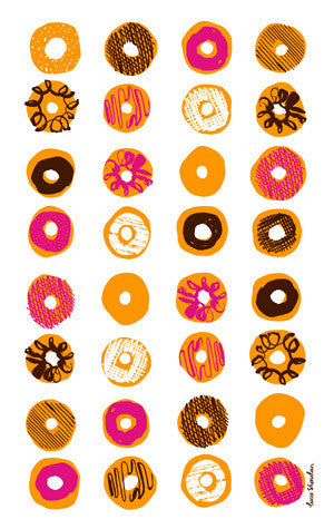 Doughnut Tea Towel