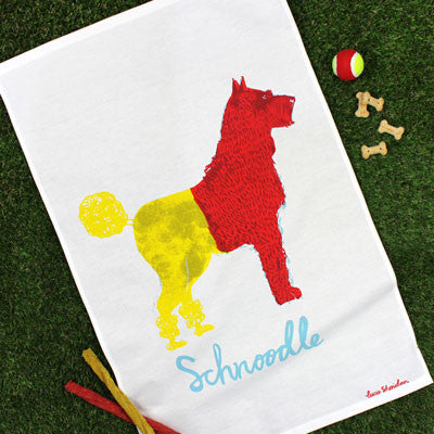 Schnoodle Tea Towel