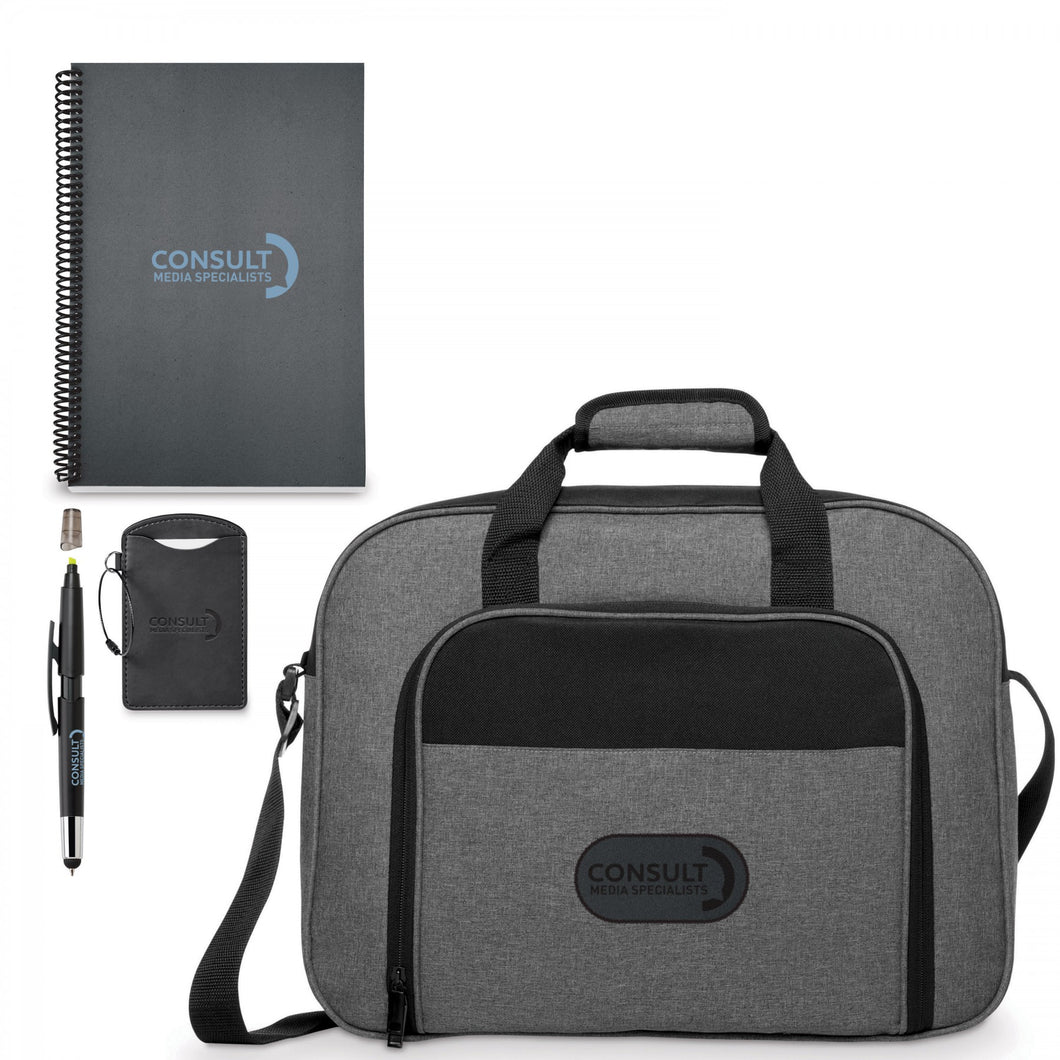 ENSEMBLE CADEAU NEOSKIN - PORTE-DOCUMENTS BUSINESS SMART