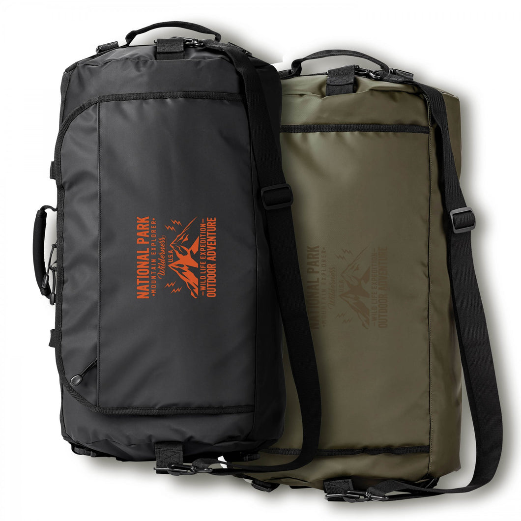 CALL OF THE WILD DUFFLE/SAC À DOS RÉSISTANT À L'EAU 45L