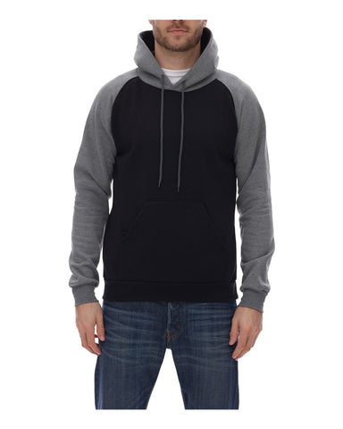 King Fashion - Hoodie / Molleton à manches raglan à capuchon