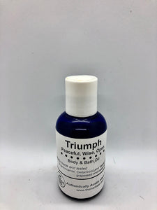 Body & Bath Oil - Triumph (2 oz)