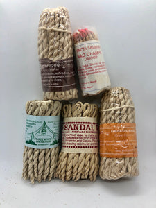 Rope Incense Packs (Assorted or Individual)