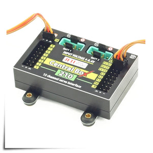 Jeti Central Box 210 Power Distribution Combo with R3/RSW Receivers (3) (Pre-Order, Due January)