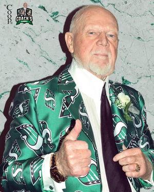 Don Cherry's Saskatchewan Roughriders Single Breasted Jacket