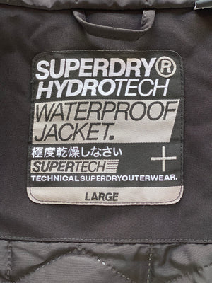 Super Dry nylon transition jacket