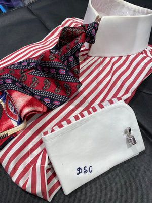 Don Cherry Worn Shirt,Tie,Cufflink Ensemble   - LOT# 8 SERIES 2