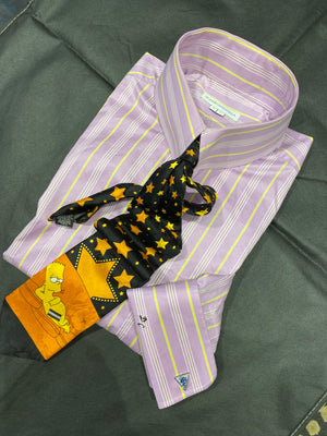 Don Cherry Worn Shirt, Tie, Cufflinks ensemble -LOT #18