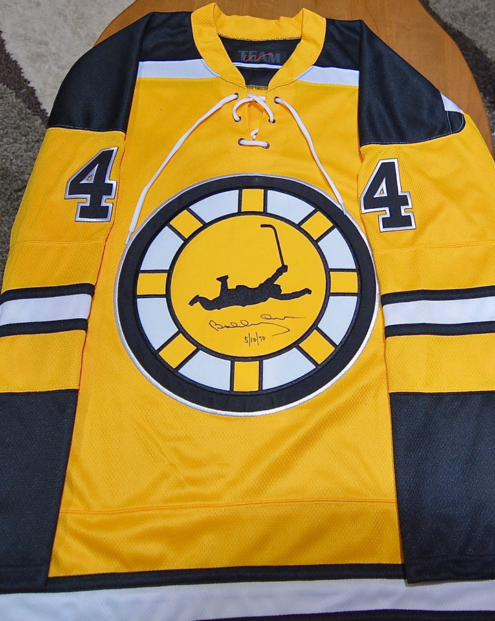 Bobby Orr Autographed Front/Back May 10,1970 Commemorative  Hockey Sweater -LOT #6 SERIES 2