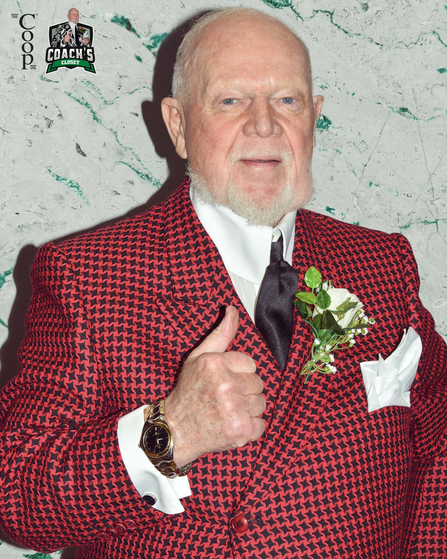 Don Cherry's Red Star Patterned Double Breasted Jacket Ensemble