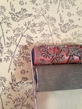 Spring Bird Patterned Paint Roller and Applicator Set