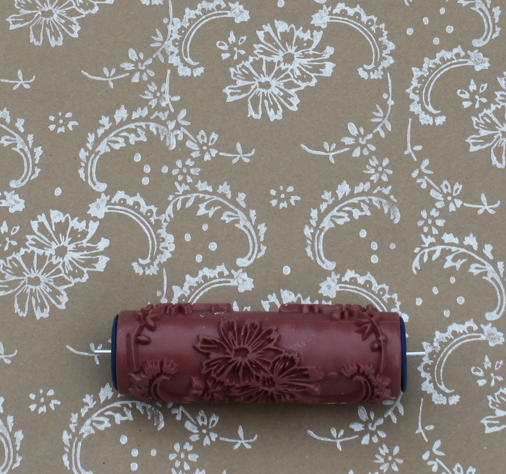 Symphony Scrolls Patterned Paint Roller
