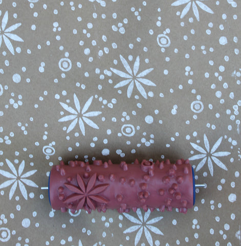 Fair Isle Patterned Paint Roller