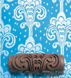 Grand Damask Patterned Paint Roller