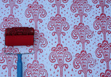 Grand Damask Patterned Paint Roller and Applicator Set