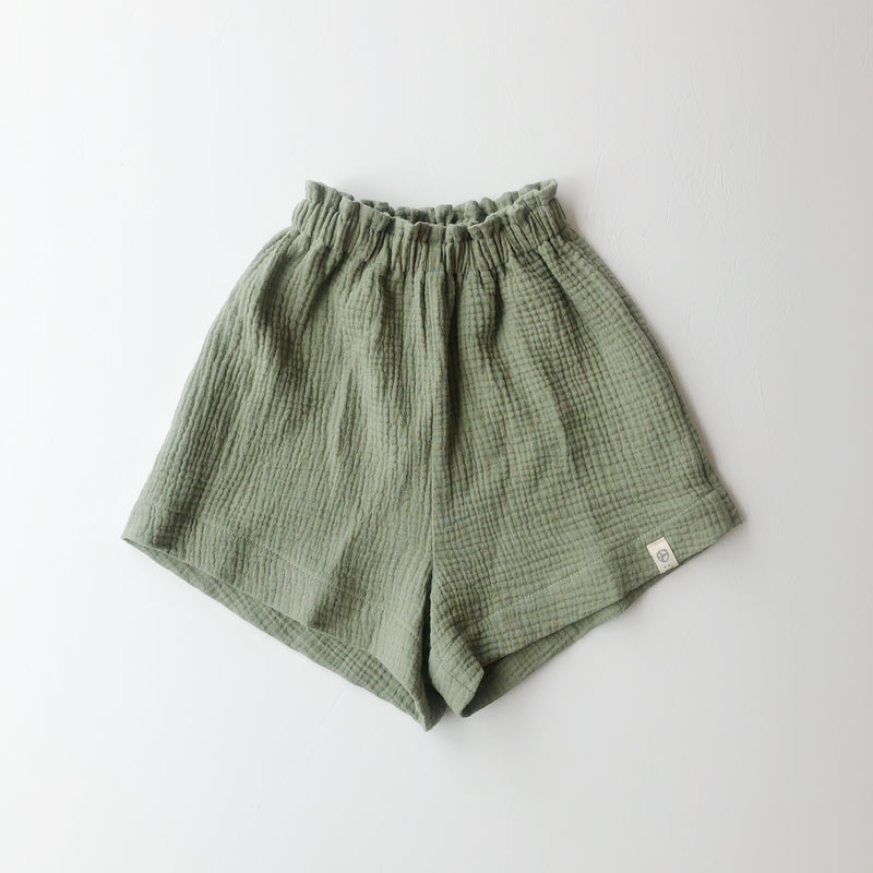 :bEL Shorts kids soft green