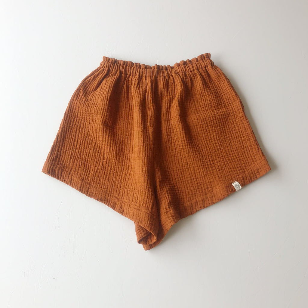 :bEL shorts Woman rusty brown