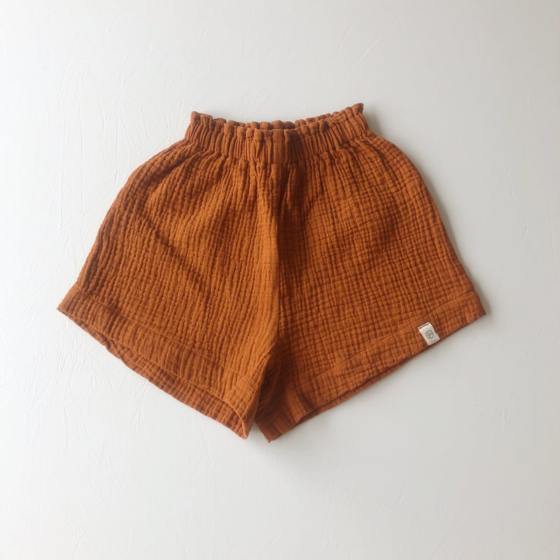 :bEL Shorts Kids rusty brown