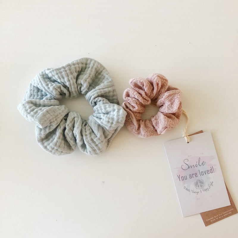 :bELstore SCRUNCHIES big small