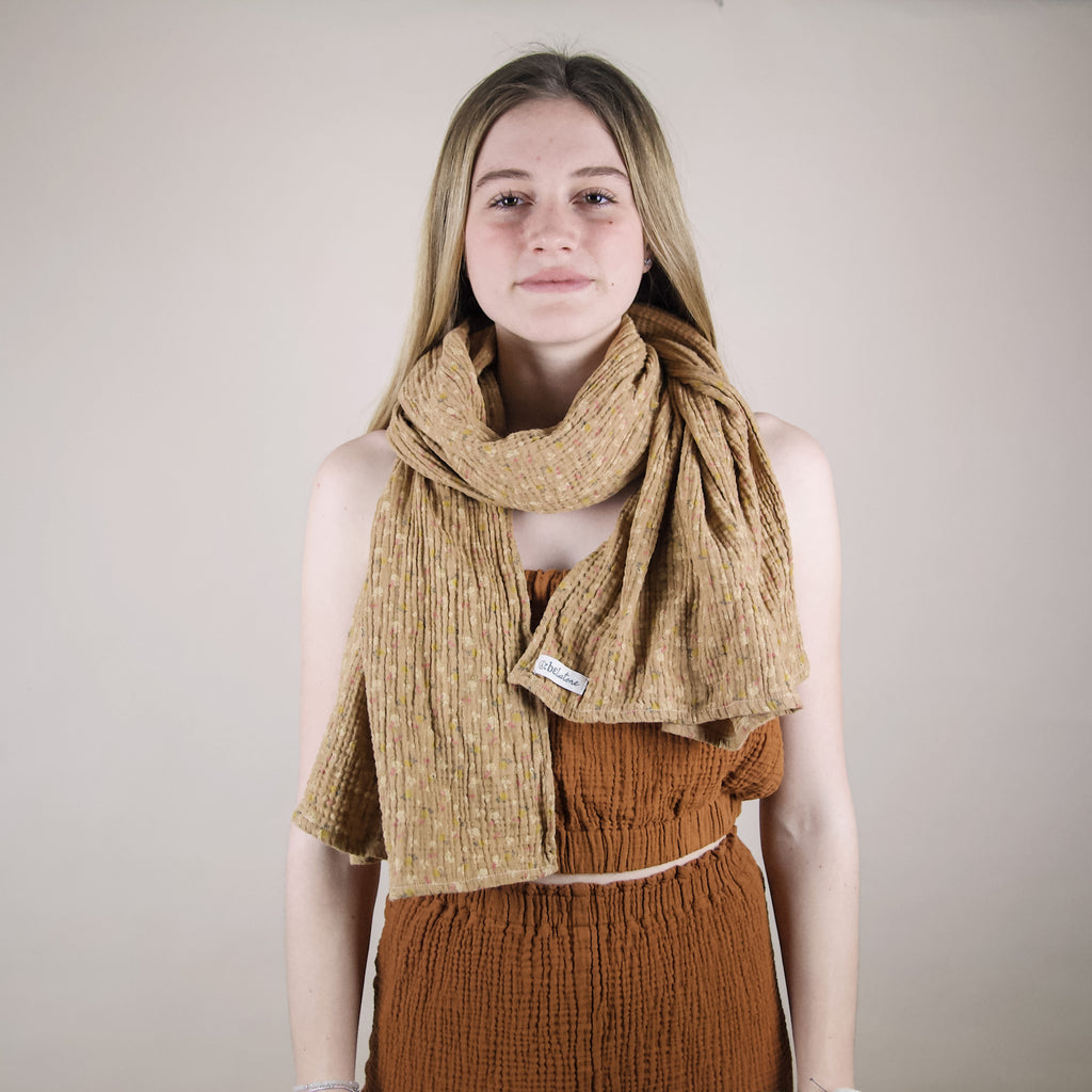 belstore Musselin scarf LIGHT