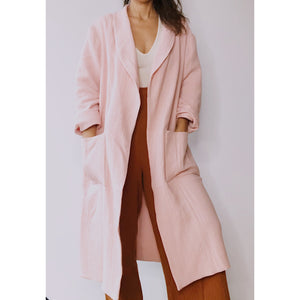 belstore MANTA coat long nude