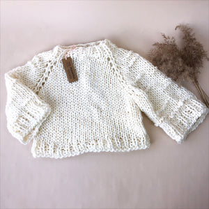 MAMINA Knit Crop Sweater Woman
